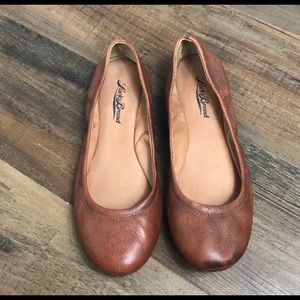 Lucky Brand Brown Ballet Flats Size 6M